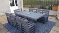 Sunshine Pallet Patio Furniture | Pallet Furniture Projects.