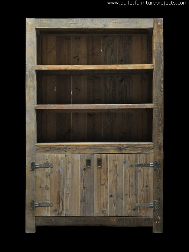 Ideas for Pallet Storage Cabinets  Pallet Furniture Projects