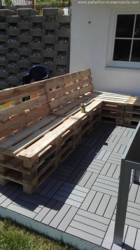 Garden Gazebo Pallet Couch | Pallet Furniture Projects.