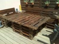 Recycled Pallet Patio Furniture Plan | Pallet Furniture ...