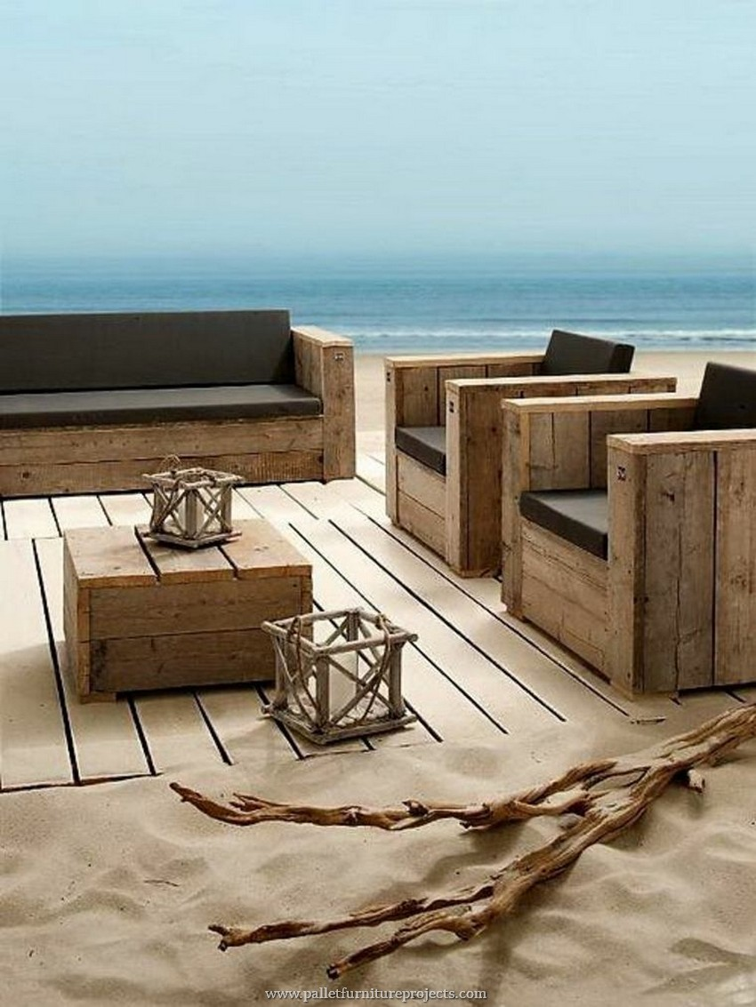 Furniture Made with Recycled Wooden Pallets
