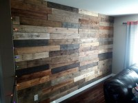 Before And After Wood Pallet Wall Art