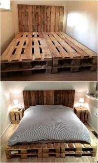 Easy To Make Wood Pallet Furniture Ideas | Pallet Ideas