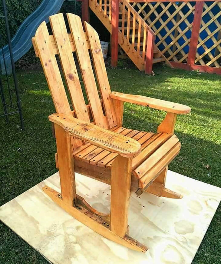 diy pallet rocking chair plans peppa pig table and chairs set wood pallets plan | ideas