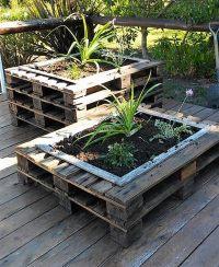 Simple DIY Plan for Wood Pallet Planters   Pallet Ideas