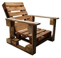 Pallet Chairs. Interesting Handmade Wood Pallet Lounge ...