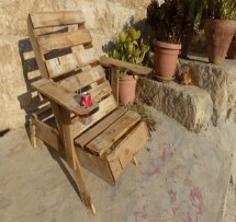 Pallet Chairs Ideas And Design Recycled