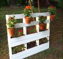 Recycled Wood Pallet Vertical Gardens Ideas