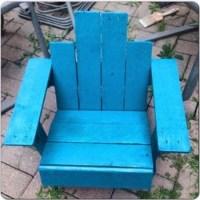 Childrens Adirondack Pallets Chair - My Decor - Home ...