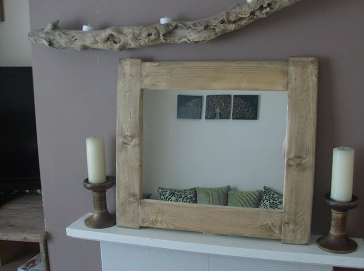 Pallet Mirrors In Vintage  Cottage Chunky Style  Pallet Ideas
