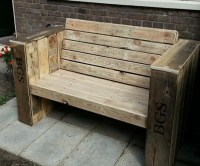 Cute Patio Benches with Wood Pallets | Pallet Ideas ...