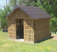 Pallets Wooden Shed Ideas | Pallet Ideas: Recycled ...