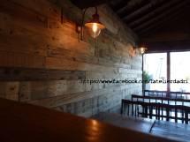 Bar Coration Murale Avec Les Palettes En Bois Pallet Ideas