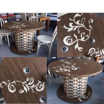 Cute Cable Drum Reel Recycling Ideas Pallet