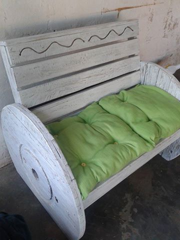 make a rustic sofa table scs delivery times pallets cable wheel couch | pallet ideas