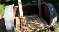 DIY Wood Barrel Recycled Chair | Pallet Ideas: Recycled ...