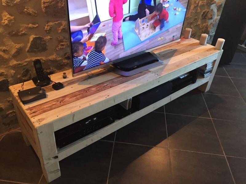 Meuble TV De La Palette  Pallet Ideas