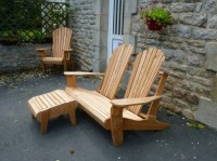 Pallets Made Patio Chair Set | Pallet Ideas: Recycled ...