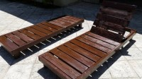 Outdoor Lounge Pallet Chairs | Pallet Ideas: Recycled ...