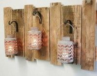 Reclaimed Pallet Wall Decorations | Pallet Ideas: Recycled ...