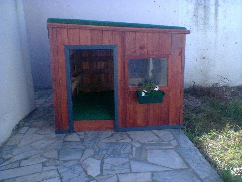 DIY Kids Playhouse Out of Pallets  Pallet Ideas