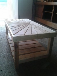 Pallets Ideas, Designs, DIY.  Pallet Wooden Coffee Table