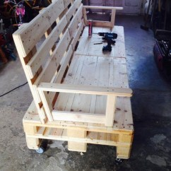 Diy Sofa From Pallets Dakki Bed For Toddlers Pallet On Wheels Ideas