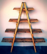Pallet Shelves in Ladder Style | Pallet Ideas: Recycled ...