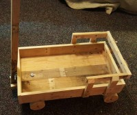 Wagon From Scrap Pallet Boards | Pallet Ideas: Recycled ...