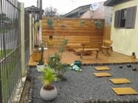 Pallets Made Garden Deck