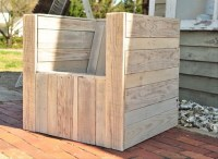 Armchairs From Repurposed Pallets Wood | Pallet Ideas ...