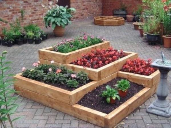 Raised Garden Planters Wheels
