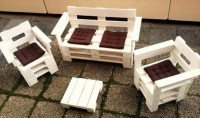 Outdoor Furniture Pallet Projects