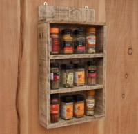 Pallet Shelf Ideas for Kitchen | Pallet Ideas: Recycled ...