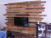 Pallet Wall Cladding for LCD | Pallet Ideas: Recycled ...