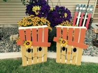 Pallet Garden Decorations | Pallet Ideas: Recycled ...