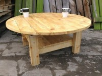 Ideas for Pallet Round Tables | Pallet Ideas: Recycled ...