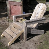 Pallet Footstool / Footrest Chairs | Pallet Ideas ...