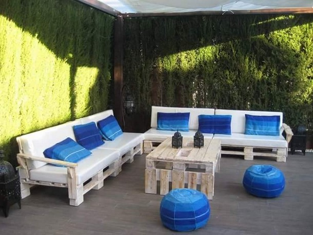 Outdoor Furniture Made with Pallets  Pallet Ideas