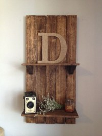 Wooden Pallet Shelving Ideas | Pallet Ideas: Recycled ...