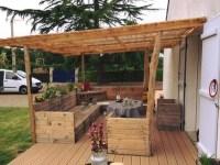 Attractive Outdoor Pallet Furniture Ideas | Pallet Ideas ...