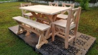 Garden Furniture Out of Wood Pallets | Pallet Ideas ...