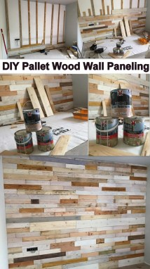 Diy Pallet Wood Wall Paneling Ideas