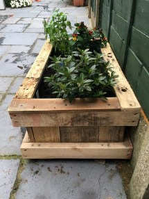Repurposed Pallet Wood Planter Ideas
