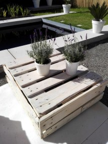 Wood Pallet Outdoor Garden Furniture Ideas