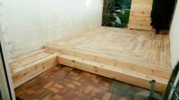 DIY Pallet Outdoor Flooring | Pallet Ideas: Recycled ...
