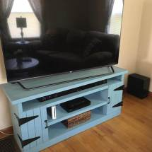 Wood Pallet Tv Stand Entertainment Center - Pallets Pro