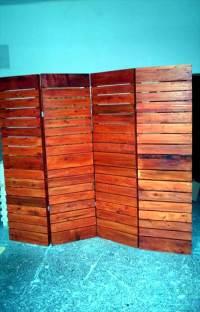 DIY Upcycled Pallet Room Divider - Pallets Pro