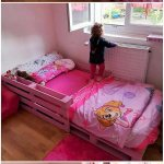 Pallet Bed For Kids Pallet Wood Projects