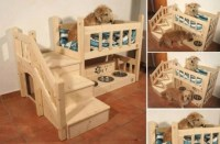 Wooden Pallet Dog Bed Plans | Pallet Wood Projects